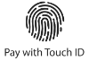 Pay with Touch ID logo