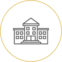 University building icon linking to BHFCU Scholarship page - Scholarship Requirements