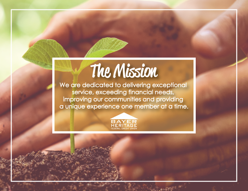 The Mission from Bayer Heritage FCU